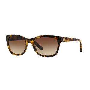TORY BURCH Tortoise Shell 54mm Sunglasses